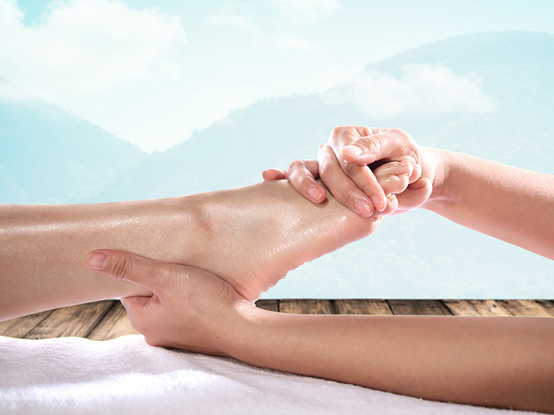 FOOT THERAPY SPA PACKAGE