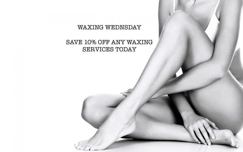 Waxing Wednesday Specials